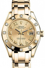 Часы Rolex Pearlmaster Lady Datejust 29mm
