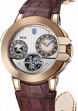 Часы Harry Winston Tourbillon GMT Z5 Rose Gold