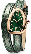 Часы Bvlgari Serpenti Gold Green