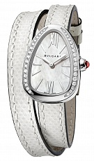 Часы Bvlgari Serpenti Steel with Diamonds  102781