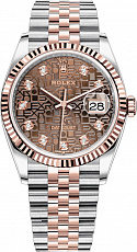 Часы Rolex Datejust 36 mm Steel Rose Gold