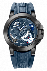 Часы Harry Winston Ocean Collection Project Z6 Blue Edition OCEMAL44ZZ005