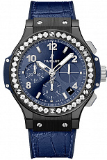 Часы Hublot Big Bang Ceramic Blue Diamonds