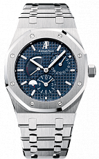 Часы Audemars Piguet Royal Oak Dual Time Power Reserve Blue