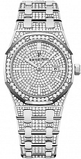 Часы Audemars Piguet Royal Oak Custom Full Pave Diamonds