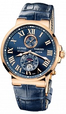 Часы U.N. Maxi Marine Chronometer Blue