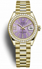 Часы Rolex Datejust 28 mm Lady President 279138RBR