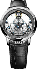 Часы Arnold & Son Time Pyramid Steel 2018