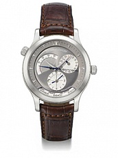 Часы Jaeger LeCoultre Master Geographic White Gold
