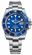 Часы Rolex Submariner Blue Dial White Gold 116619LB