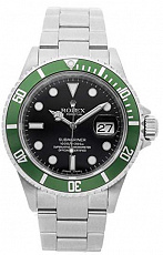 Часы Rolex Submariner Kermit Z Serial 16610LV