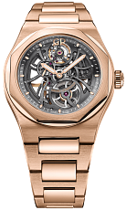Часы Girard-Perregaux Laureato Skeleton Rose Gold