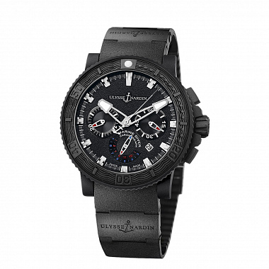 Часы U.N. Black Sea Diver Chronograph 353-92-3C
