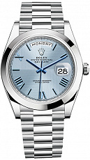 Часы Rolex Day-Date II President Platinum Ice Blue 228206