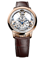 Часы Arnold and Son Time Pyramid Rose Gold