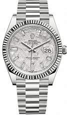 Часы Rolex Oyster Perpetual White Gold Day-Date Meteorite 40mm