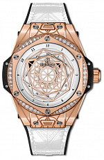 Часы Hublot Big Bang One Click Sang Bleu King Gold White Diamonds